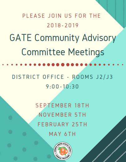 GATE Community Advisory Committee