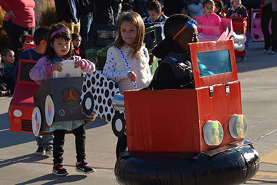 enrollment image - TK students transportation parade
