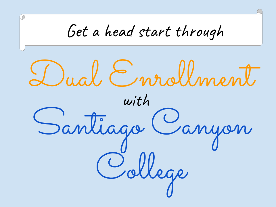 Early College Credit Opportunities Orange Unified School District