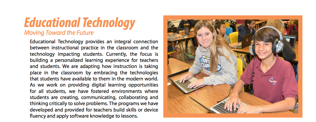 Technology Integrated Instruction Orange Unified School District