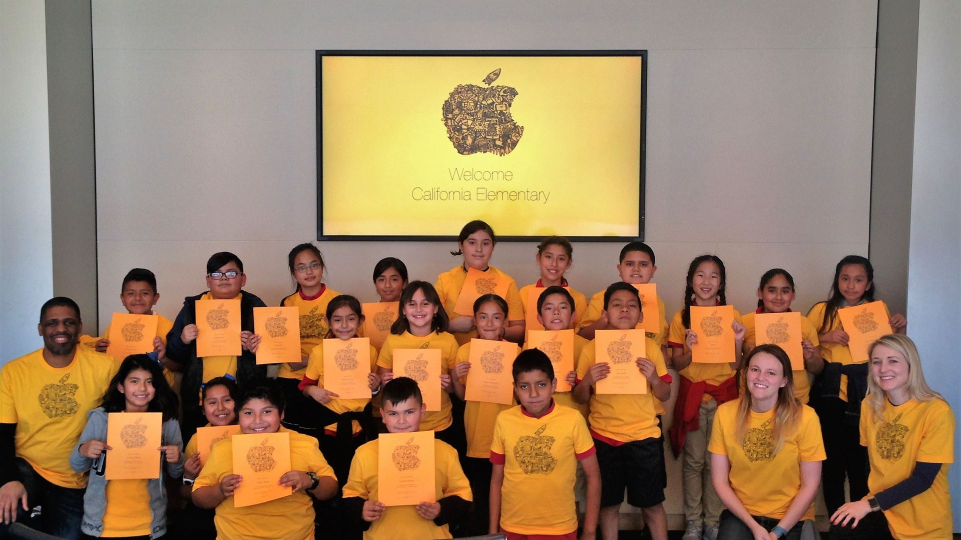 California Elementary School Named Apple Distinguished School