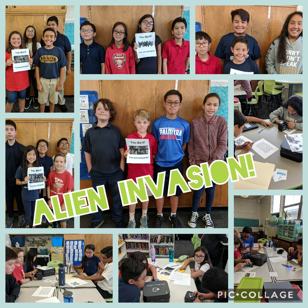 Breakout Box - Alien Invasion